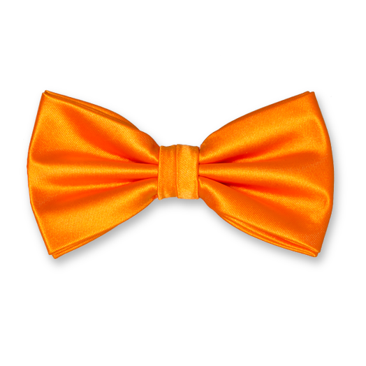 Fluga Orange - Polyester Satin (1)